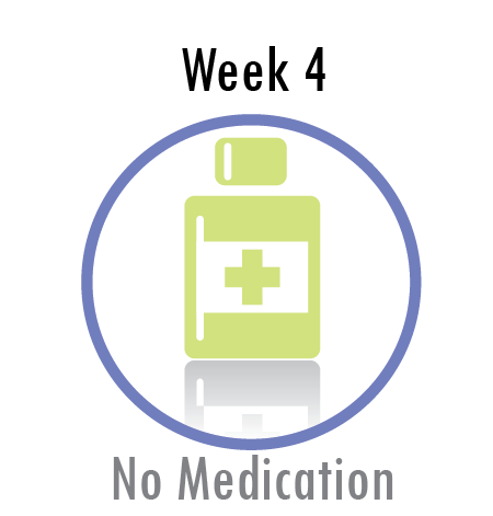 Week Three - No Medication